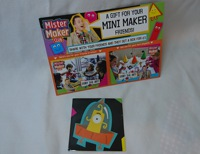 Mister Maker Club Card and Sticker